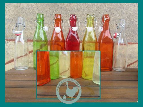 bouteille pour sirop