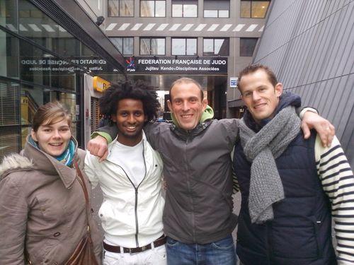 mes partenaires Emilie KERHERVE (Juno kata), Vincent LE CLE