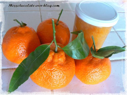confiture de mandarines avec zest et vitpris le blog de miss chocolate. Black Bedroom Furniture Sets. Home Design Ideas