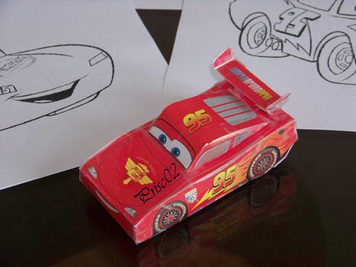 Flash McQueen Cars 3D