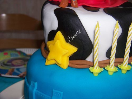 Gateau anniversaire Woody Toy Story2
