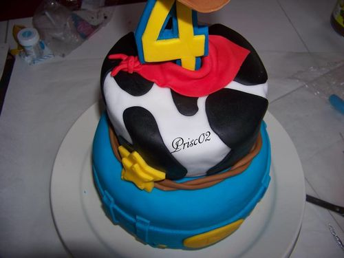 Gateau anniversaire Woody Toy Story9