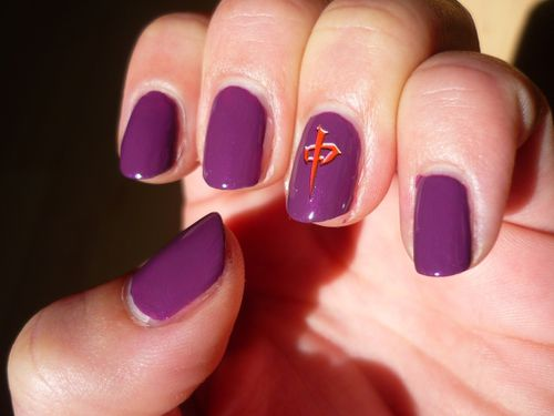 nail art discret sur ongles courts arty nails blog. Black Bedroom Furniture Sets. Home Design Ideas
