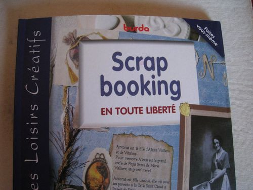 Livre Scrap booking