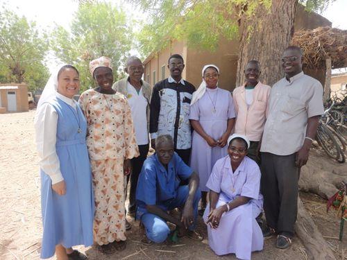 Visite de religieux à Dassa2