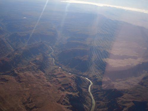 Grand Canyon vu d'avion