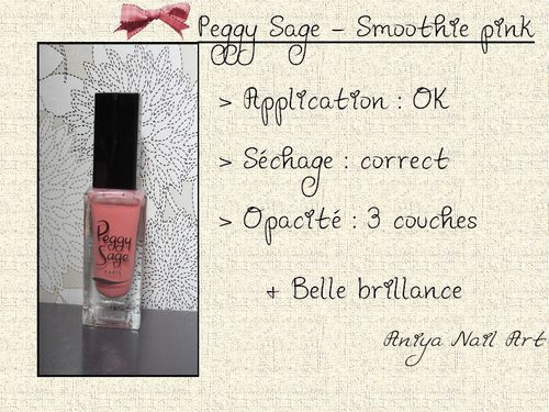 Peggy Sage - Smoothie pink