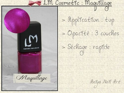 lm cosmetic Maquillage