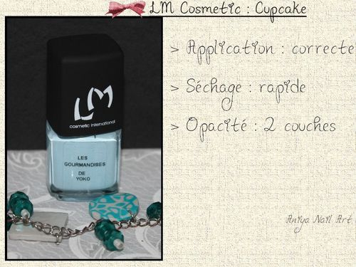 lm cosmetic cupcake