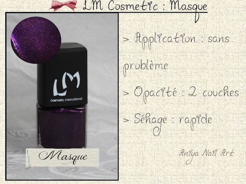 lm cosmetic masque