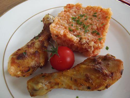 Poulet roti carla et risotto tomate blogs de cuisine - Risotto tomate thermomix ...