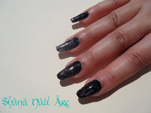 Black Spotted 9