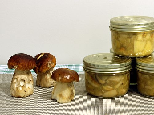 Conserves de Cepes au Naturel