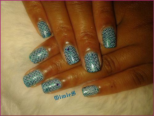 stamping mosaique