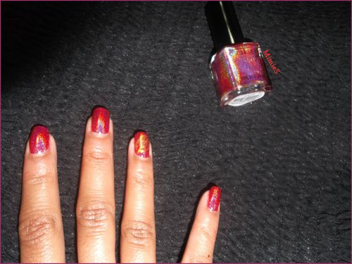 swatch gg red holo