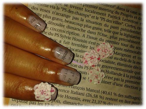 newspaper et sweet flower (3)