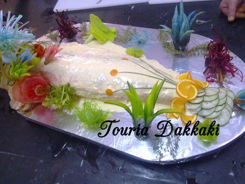 Poisson miroir touria dakkaki chef hind daissaoui for Poisson yeux miroir