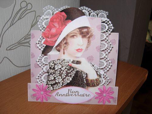 Cartes Anniversaire Femme Le Blog De Scrap Passion De Mary