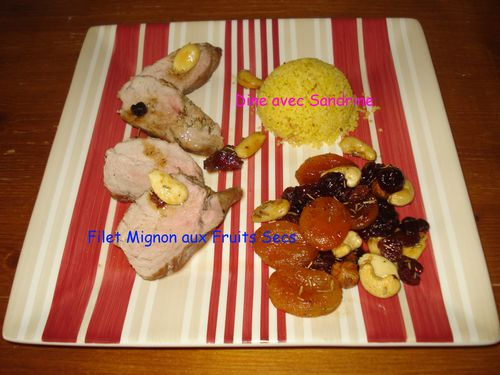 Filet Mignon aux Fruits Secs 4
