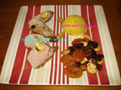 Filet Mignon aux Fruits Secs 5