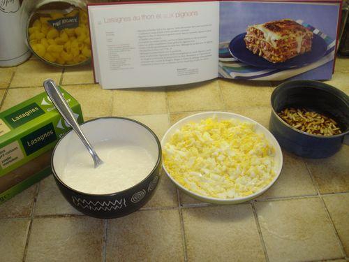 Lasagnes au Thon et aux Pignons 3