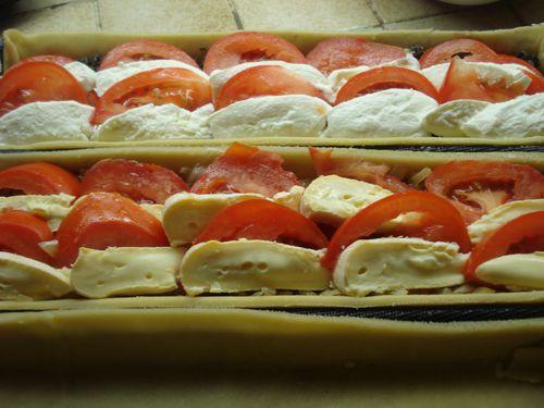 Variation autour de la Tarte à la Tomate 5