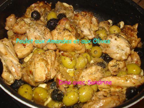 Poulet aux Amandes et aux Olives 4