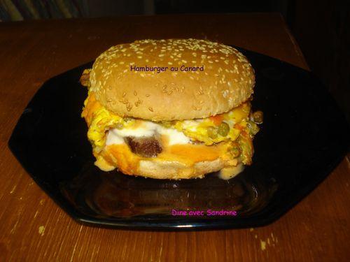 Hamburger au canard 8