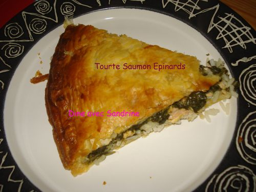 Tourte Saumon Epinards 12