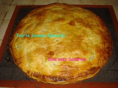 Tourte Saumon Epinards 8