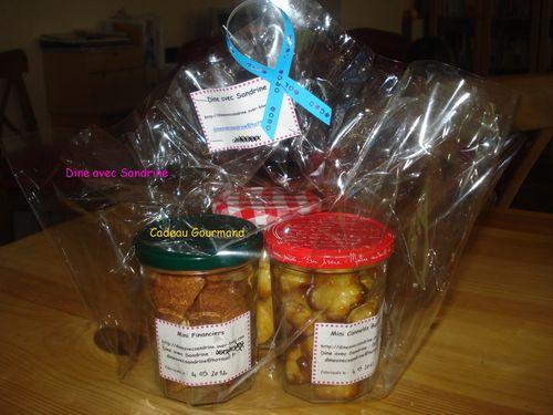 Cadeau Gourmand avec des mini moelleux au citron, des mini