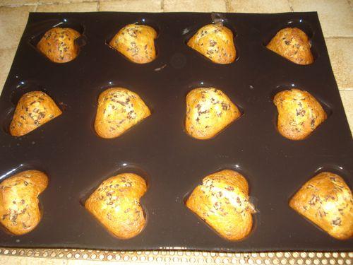 Coeurs Banane Chocolat 7