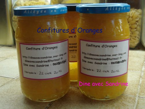 Confitures d'Oranges 5