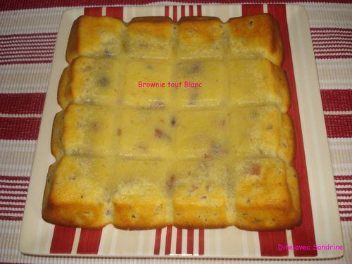 Brownie tout blanc (9)