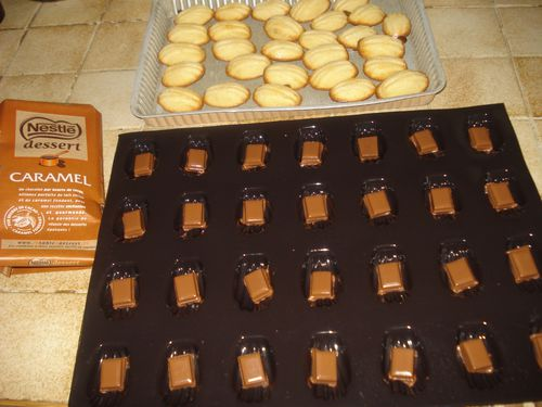 Financiers Coque ChocoCaramel (2)