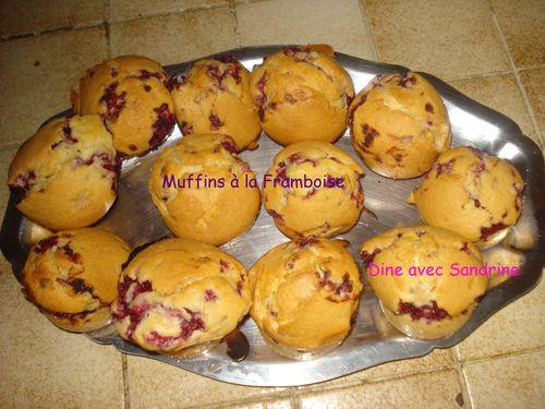 Muffins à la Framboise 6
