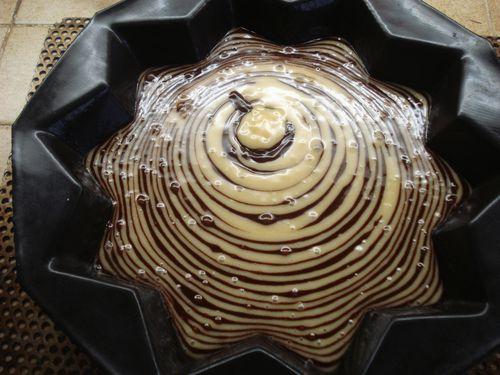 Gâteau tigré 6