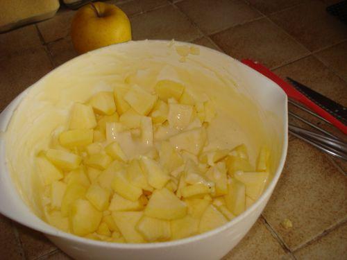 Gâteau aux Pommes et au Fromage blanc 4