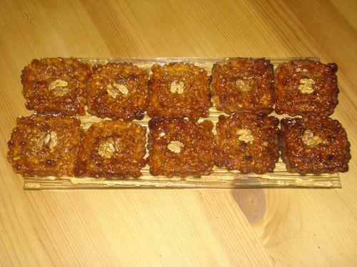Tartelettes au miel et aux noix 6