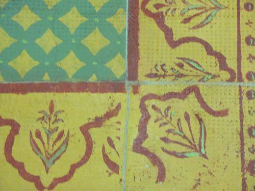 Peinture d corative technique b ton peint pochoirs for Pochoir a peindre