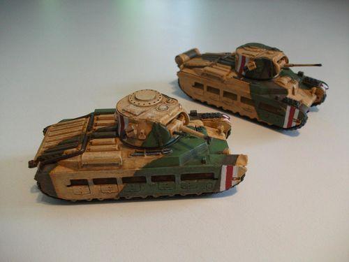 Matilda II et IV-CS
