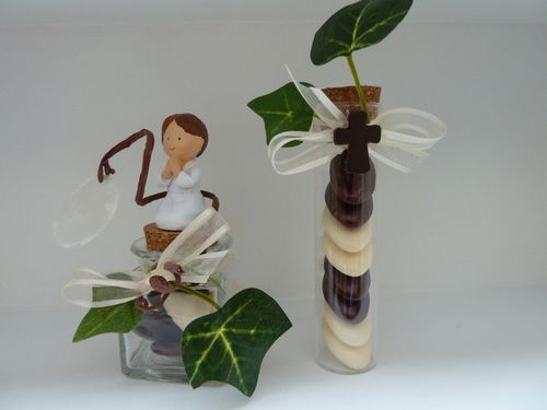 Communion gar on le blog de dragees 1 2 3 idees - Decoration de table pour communion garcon ...
