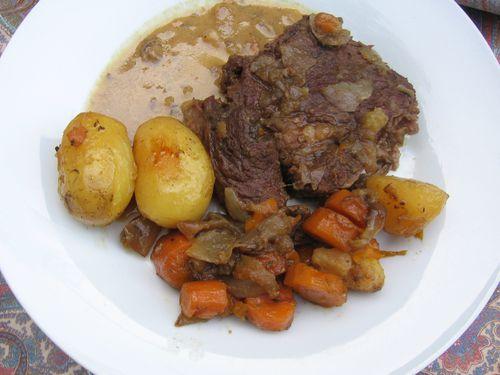 Basse c te de boeuf confite au four le blog de vertsolidaire - Temps de cuisson cote de boeuf au grill ...