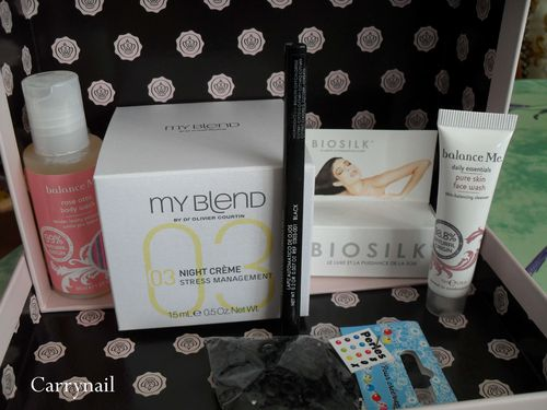glossy box Belle des champs Mars