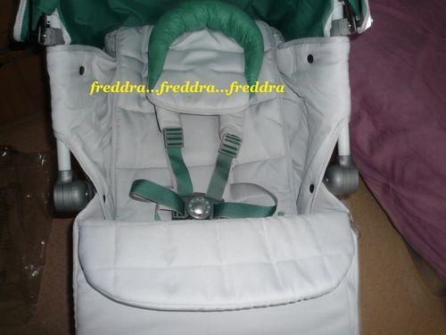 maclaren xlr 2012 silver green