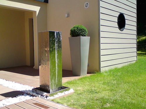 Design jardins fontaines ext rieures design design jardins for Fontaine exterieur design