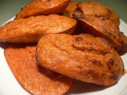 madeleines au thon et à la tomate