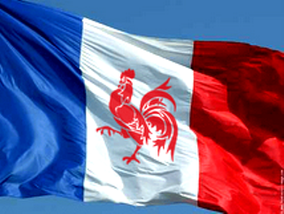 le drapeau reunioniste wallonie-france