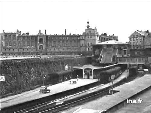 1961 Le futur Métro Epress (RER) de Saint-Germain-en-Laye en vidéo