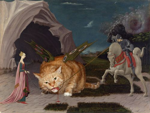 Paolo uccello - saint georges et le dragon 01